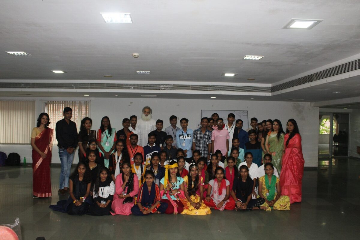 VTC Students Celebrating Gurupurnima day on 23rd July 2021